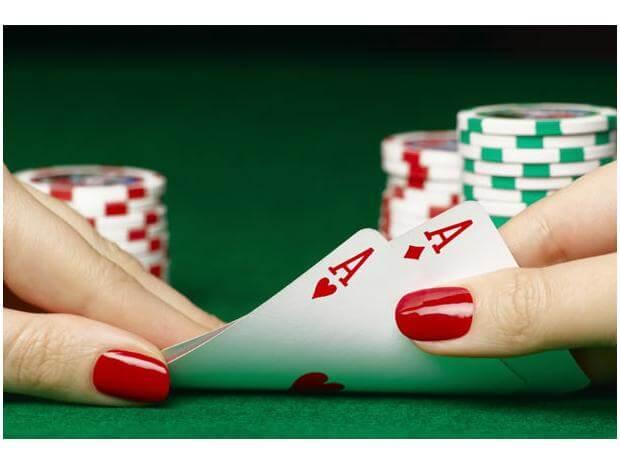 Frauen im Poker